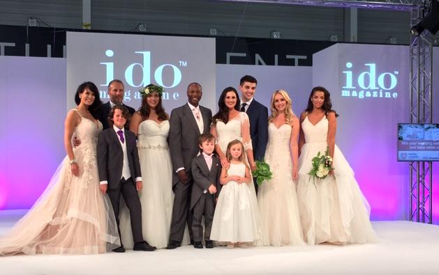 Stanleys provide Catwalk Models for the I Do Wedding Show this Sunday