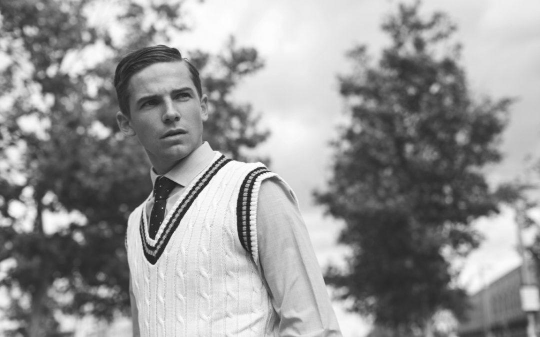Welcome to new male model Charlie Buirski