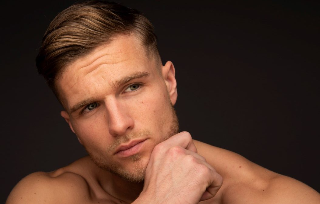 Introducing new male model Max Black